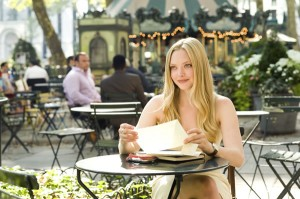 La bellissina Amanda Seyfried in una scena del film (fonte web)